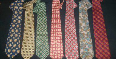 Mantenimiento de las corbatas