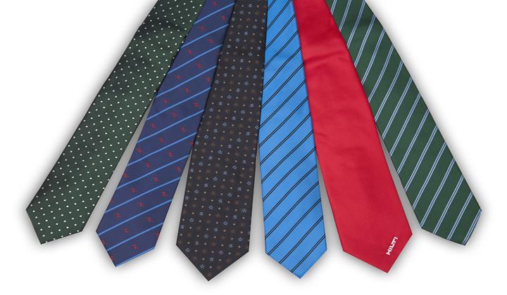 corbata variada
