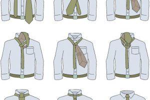 👔Nudo de corbata simple