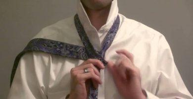 👔 Cómo Hacer un Nudo de Corbata