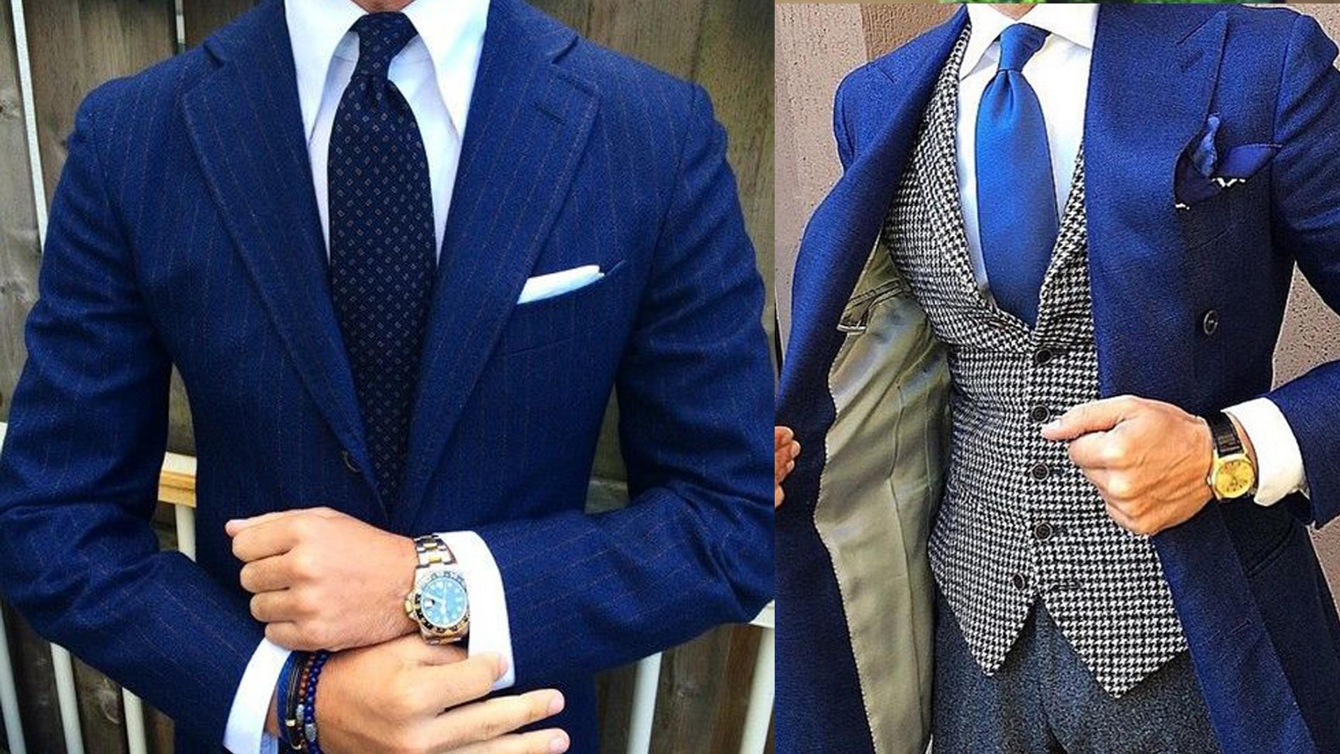 d7c767c50c915 Las mejores Combinaciones de Corbatas para Traje Azul