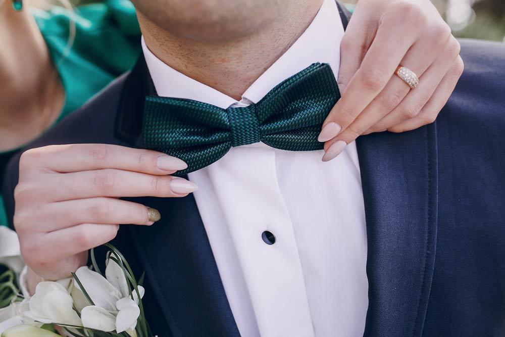 Corbata de Moño para Bodas