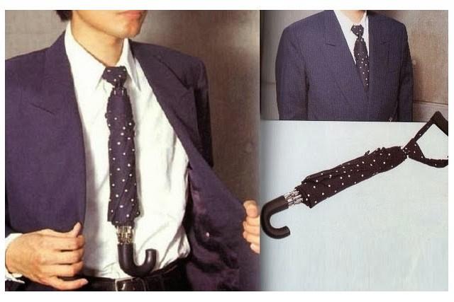 corbata paragua