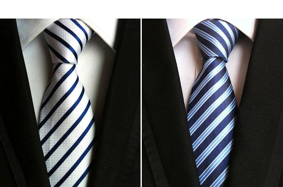 corbatas rayadas para traje negro