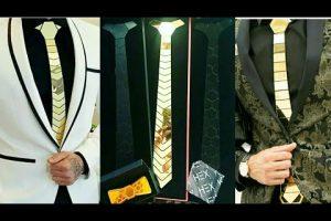 Corbatas de Oro, lujo y excentricidad al máximo